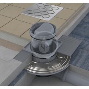 RAVAK - Příslušenství Samolepiaca hydroizolácia vpustu 300 mmx300 mm (X01572)