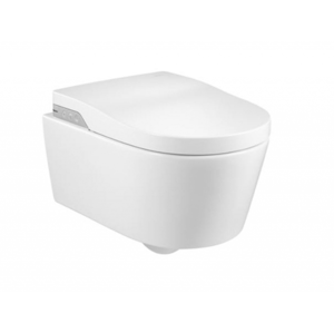 ROCA - In-Wash Inspira klozet závesný Rimless sa sprchovacími funkciami, biely (A803060001)