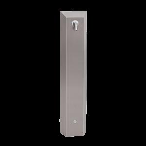 Sanela SLSN 01P Nerezový sprchový panel s integrovaným piezo ovládáním pro přívod tepelně upravené vody, 24V DC (SL 92018)