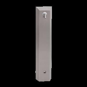Sanela SLSN 01E Nerezový sprchový panel s elektronikou ALS pro přívod tepelně upravené vody, 24V DC (SL 92011)