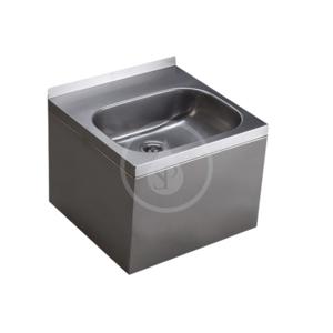 SANELA - Nerezová umyvadla Umývadlo z nehrdzavejúcej ocele (SLUN 13)