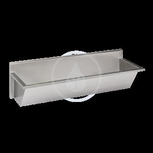 SANELA - Nerezové žlaby Nerezový mycí žlab lékařský, délka 2250 mm (SLUN 56)