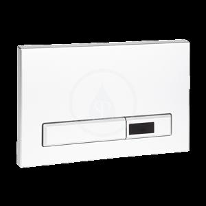 SANELA - Příslušenství Automatický splachovač WC do zostáv SLR 20 a SLR 21, tlačidlo, biely (SLW 02A)