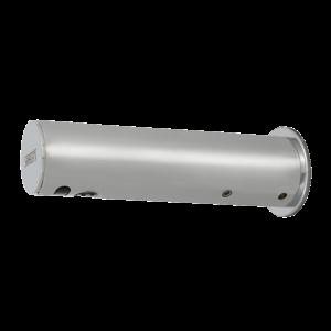Sanela SLU 43KB Automatická chromová nástěnná baterie na jednu vodu s elektronikou ALS, 6V (SL 03431)