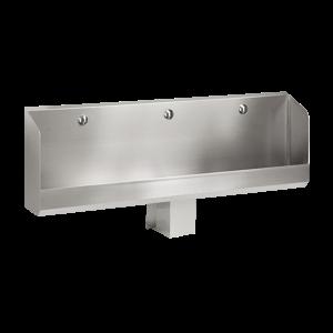 Sanela SLPN 04C Nerezový pisoárový žlab se skrytým splachováním, délka 1800 mm, 24V DC, matný (SL 91043)