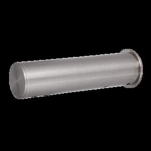 Sanela SLU 43 Automatická nerezová nástěnná baterie na jednu vodu s elektronikou ALS, 24V DC (SL 03430)