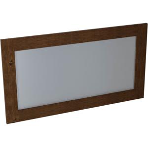 SAPHO - BRAND zrkadlo 1300x700x20mm, morený smrek (BA061)