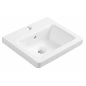 SAPHO - CITY keramické umývadlo hranaté 40x18x35cm KE040