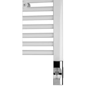 SAPHO - Elektrická vykurovacia tyč s termostatom a diaľkovým ovládaním,600W,D-tvar, chro (HVD-600C)