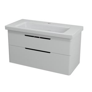 SAPHO - ELLA umývadlová skrinka 95,7x50x42,8cm, biela (70100)