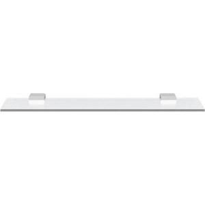 SAPHO - EVEREST sklenená polička 600mm, chróm (1313-15)