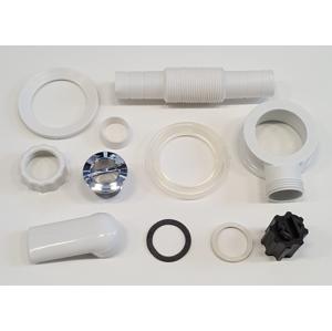 SAPHO - Externí přepadová souprava pro umyvadla z litého mramoru (ND-EP)