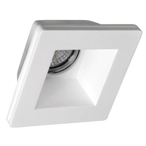SAPHO - GIP podhľadové sadrové svietidlo 120x120 mm, GU10, max 35W (LDD475)