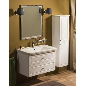 SAPHO - Kúpeľňový set VIOLETA 90, biela pololesk (KSET-003)