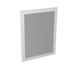 SAPHO - LARGO zrkadlo v ráme 600x800x28mm, biela (LA611)