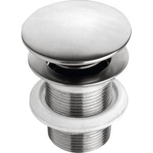 SAPHO - MINIMAL uzatvárateľná výpusť pre umývadla s prepadom Click Clack, nerez (MI057)