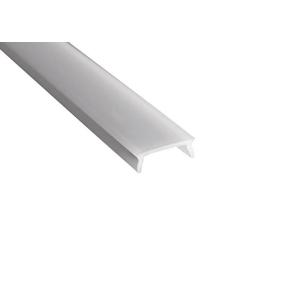SAPHO - Mliečny kryt LED profilu, 2m (KL17071-2)