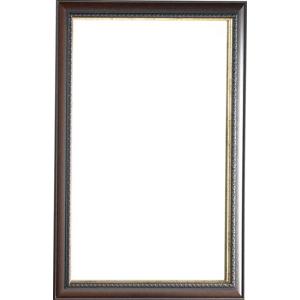 SAPHO - NATURAL zrkadlo v drevenom ráme 713x913 mm (NL513)