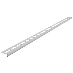 SAPHO - Nerezová lišta pre vyspádovanie, ľavá, výška 12 mm, dĺžka 1500 mm (SPD1512-L)