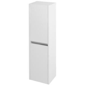 SAPHO - NIRONA skrinka vysoká 35x140x30cm, 2x dvierka, ľavá/pravá, biela (NR350)