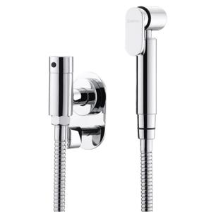 SAPHO - Podomietkový ventil s bidetovou spŕškou, chróm (Bidetset04)