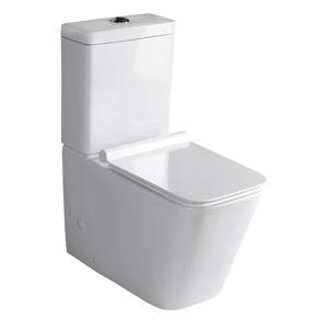 SAPHO - PORTO WC kombi mísa s nádržkou včetně Soft Close sedátka, spodní/zadní odpad (PC102)