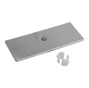 SAPHO - Posuvná polička pre tyče a sprchové stĺpy, ABS/chróm (SK111)