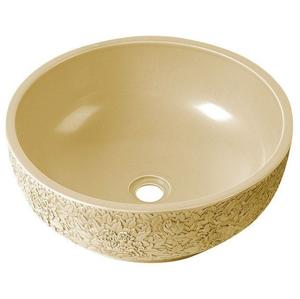 SAPHO - PRIORI keramické umývadlo, priemer 43cm, farba slonová kost (PI017)