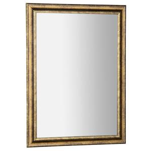 SAPHO - ROMINAzrkadlo v drevenom ráme 580x780mm, bronzová patina (NL392)