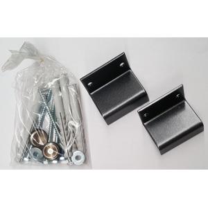 SAPHO - SILVANA, montážní uchycení, metalická stříbrná (NDSAAS)
