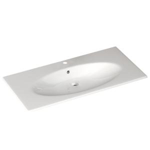 SAPHO - SISTEMA X keramické umývadlo 120x51cm, biela (10SX50121)