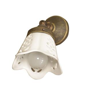 SAPHO - SORENTO svítidlo E14, 40W, 230V, keramické stínítko, bronz (MC098)
