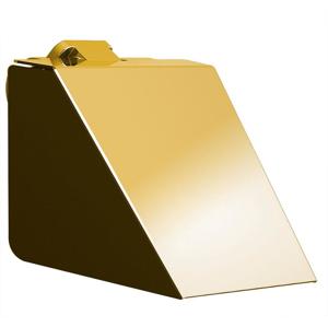 SAPHO - SOUL držák toaletního papíru s krytem, zlato (164943)