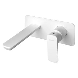 SAPHO - SPY podomietková umývadlová batéria, biela matná (PY08/14)