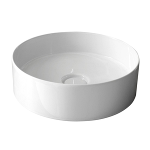 SAPHO - STORM CIRCLE umývadlo priemer 40,5 cm vrátane keramickej výpusti (31140101) (RM040)