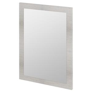 SAPHO - TREOS zrkadlo v ráme 750x500x28mm, dub Polar (TS752)