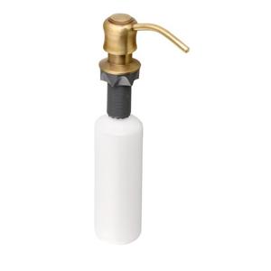 SAPHO - Zápustný dávkovač mydla, bronz (SP004)