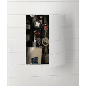 SAPHO - ZARZ revízne dvierka pod obklady 60x90 cm, otváranie click-clack, pozink oceľ (ZV191)