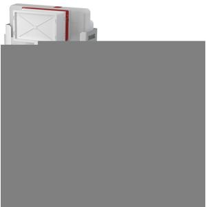 ALCAPLAST Renovmodul - předstěnový instalační systém bez tlačítka + WC CERSANIT CLEANON CARINA + SEDÁTKO (AM115/1000 X CA1)
