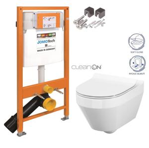 /SET/JOMO - JOMO Duofix modul pro závěsné WC + montážní sada + sedátko + WC CERSANIT CLEANON CREA OVÁL (174-91100700-00 CR1)