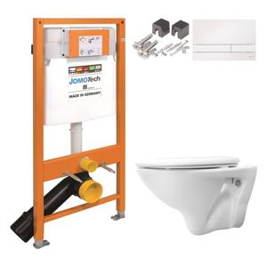 /SET/JOMO - JOMO Duofix modul pro závěsné WC + tlačítko + montážní sada + sedátko + WC CERSANIT MITO (174-91100900-00 MI1)