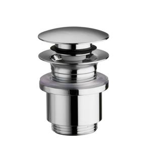 SILFRA - Uzatvárateľná guľatá výpusť pre umývadla bez prepadu Click Clack,V10-25mm, tichý (UD369S51)