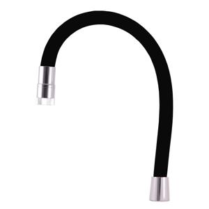 SLEZAK-RAV - Ramínko flexi AMUR s otočným perlátorem, Barva: černá (SR0016C/11)