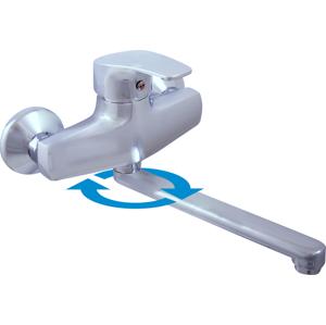 SLEZAK-RAV - Vodovodní baterie dřezová/umyvadlová KONGO , Barva: chrom, Rozměr: 100 mm (K001.0/23)
