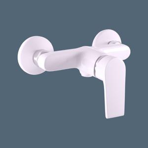 SLEZAK-RAV - Vodovodní baterie sprchová COLORADO bílá/chrom, Barva: bílá/chrom, Rozměr: 100 mm (CO181.0BC)