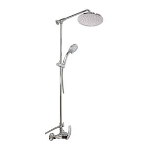 SLEZAK-RAV - Vodovodní baterie sprchová MISSISSIPPI s hlavovou a ruční sprchou, Barva: chrom, Rozměr: 150 mm (MS081.5/4)
