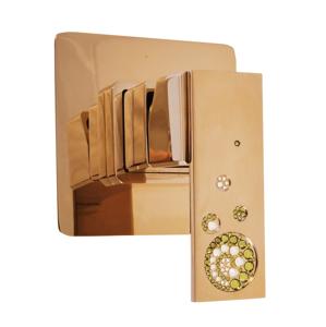 SLEZAK-RAV - Vodovodní baterie sprchová vestavěná , Barva: chrom (ROYAL1383)