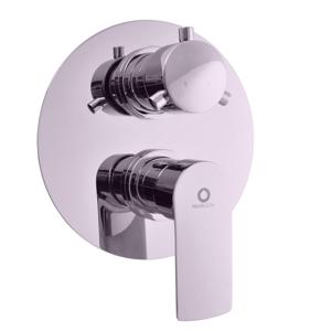 SLEZAK-RAV - Vodovodní baterie sprchová vestavěná s přepínačem VLTAVA, Barva: chrom (VT486K)