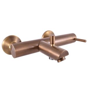 SLEZAK-RAV - Vodovodní baterie vanová SEINA, Barva: stará mosaz, Rozměr: 150 mm (SE954.5SM)