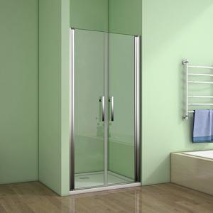 Sprchové dveře MELODY D2 100 dvoukřídlé 96-100 x 195 cm, čiré sklo (SE- MELODYD2100)